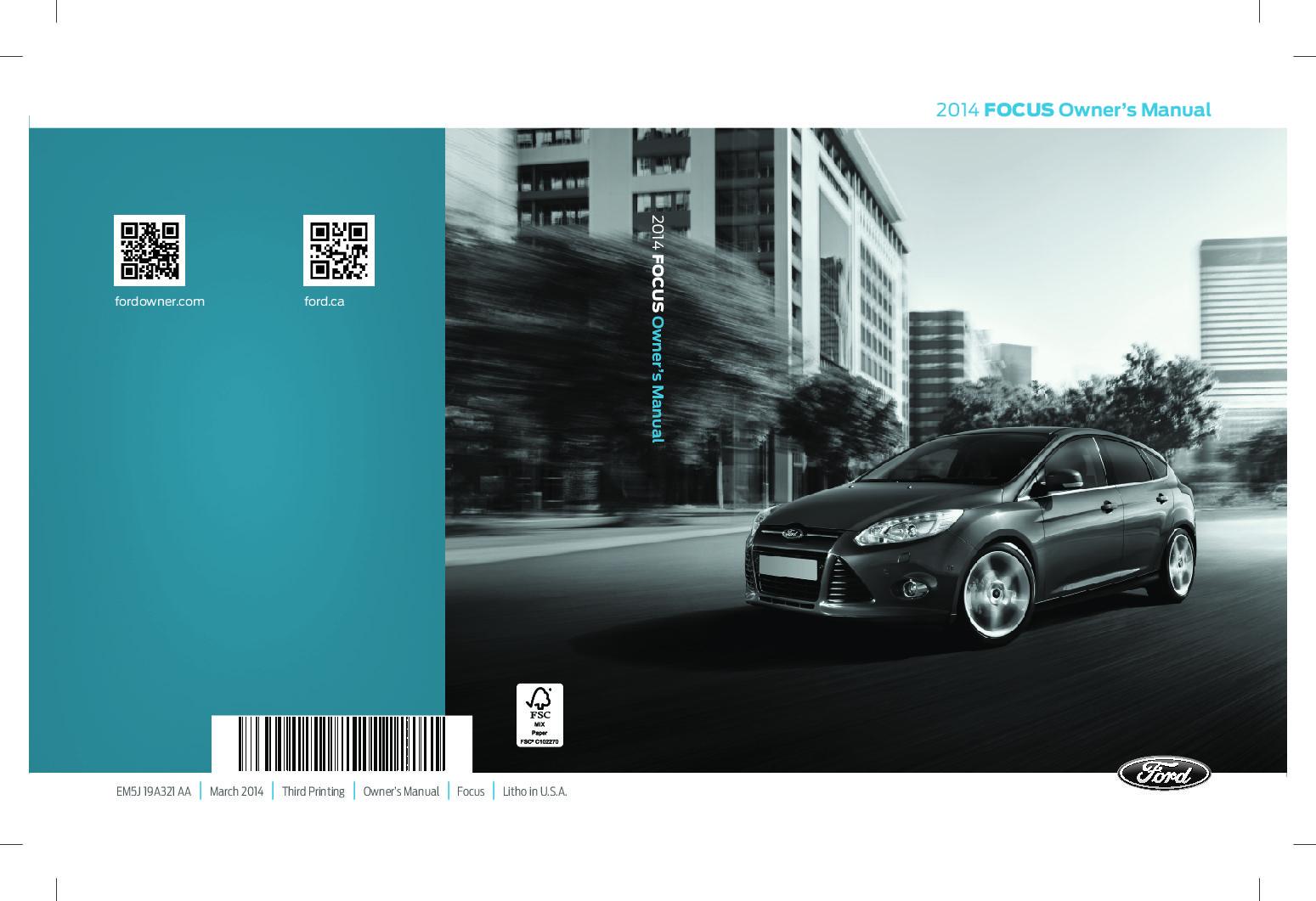 Download ford focus user manual