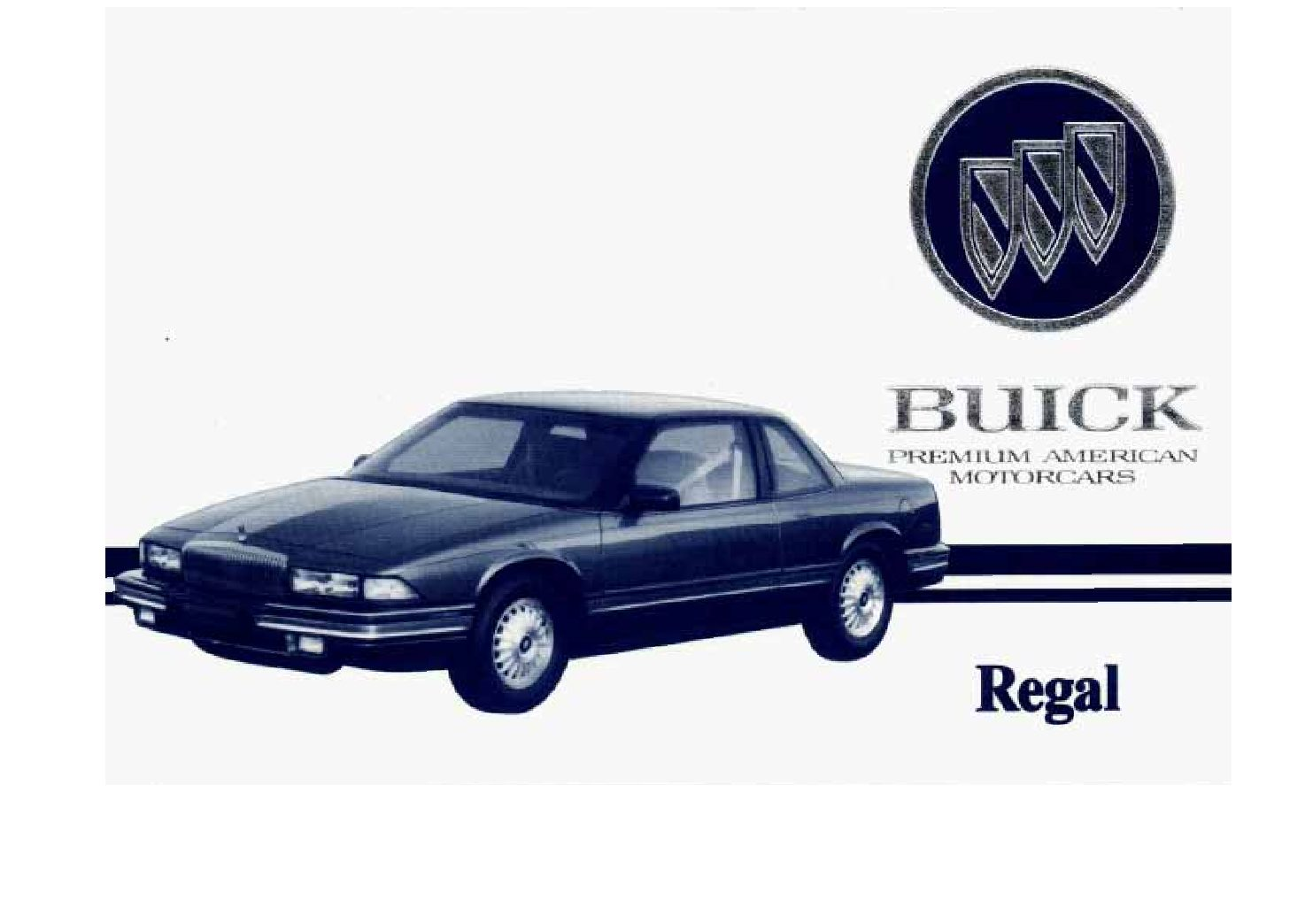 1993 buick regal owners manual just give me the damn manual rh justgivemethedamnmanual com 1994 Buick Regal 1993 Buick Regal Custom