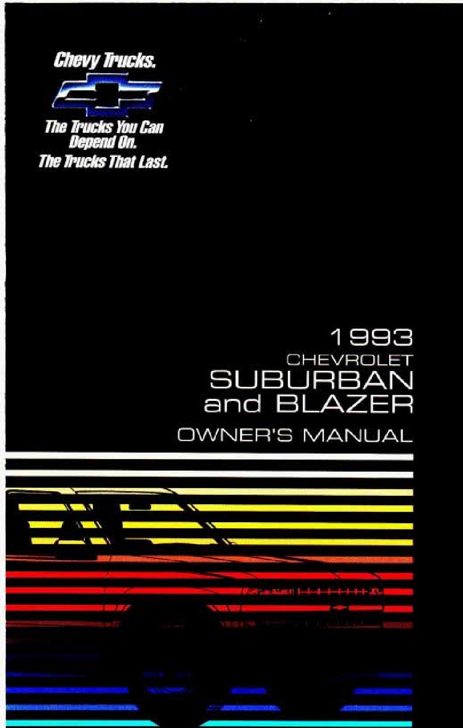 1993 chevrolet suburban owners manual just give me the damn manual rh justgivemethedamnmanual com 2008 Chevrolet Suburban 2004 Chevrolet Suburban