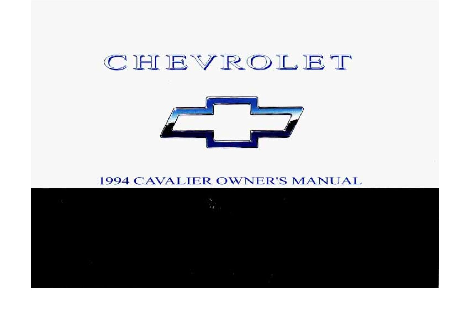 1994 chevrolet cavalier owners manual just give me the damn manual rh justgivemethedamnmanual com Cavaliers Roster Cavaliers Careers