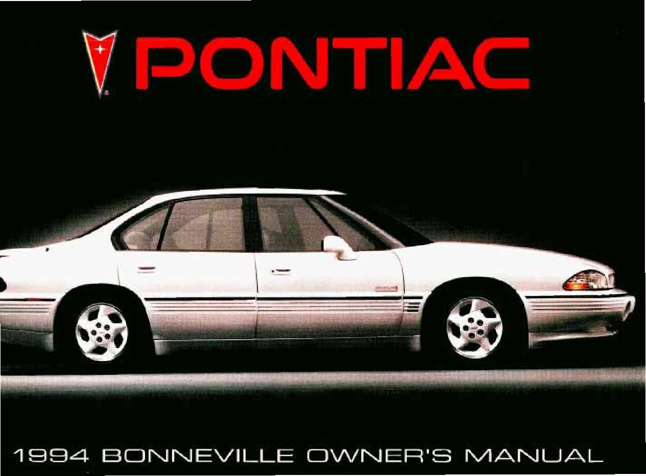 1994 pontiac bonneville owners manual just give me the damn manual rh justgivemethedamnmanual com 2005 Pontiac Bonneville 2002 pontiac bonneville ssei owners manual
