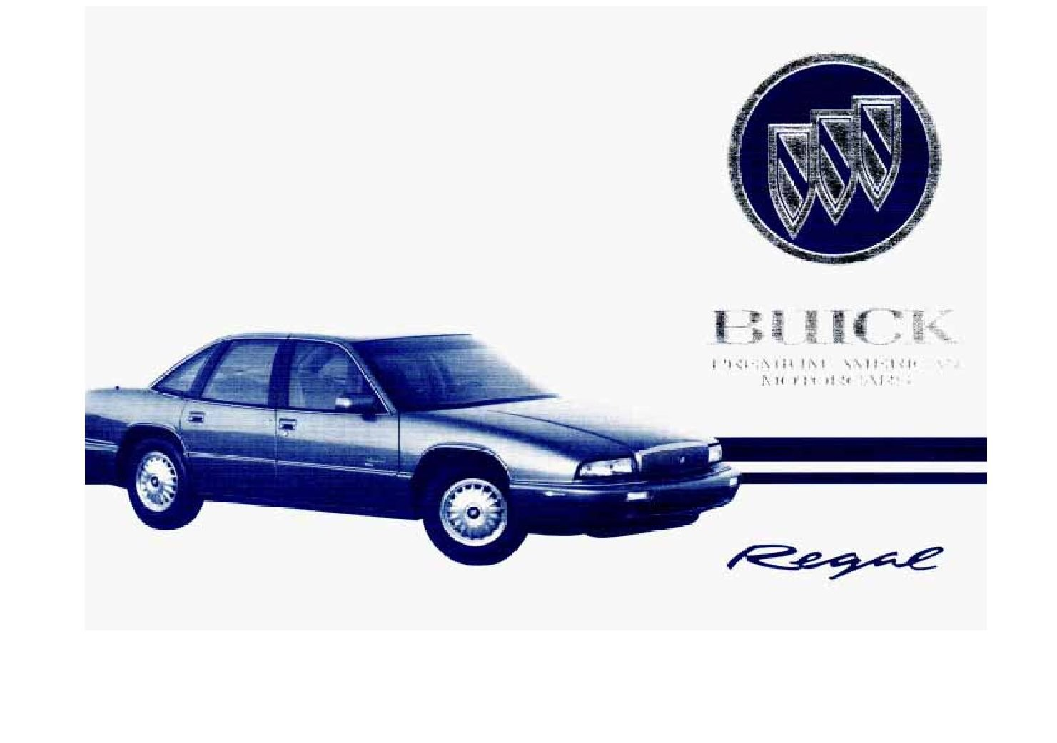 1995 buick regal owners manual just give me the damn manual rh justgivemethedamnmanual com 1986 Buick Regal 2017 Buick Regal