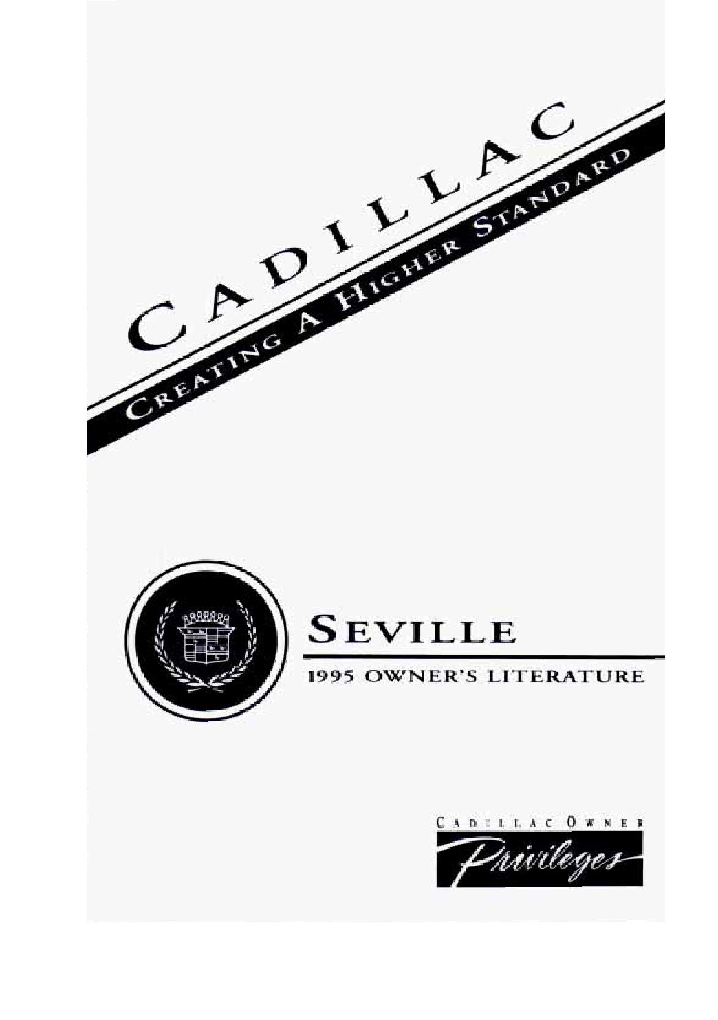 1995 cadillac seville owners manual just give me the damn manual rh justgivemethedamnmanual com 1989 Cadillac Seville 1994 Seville