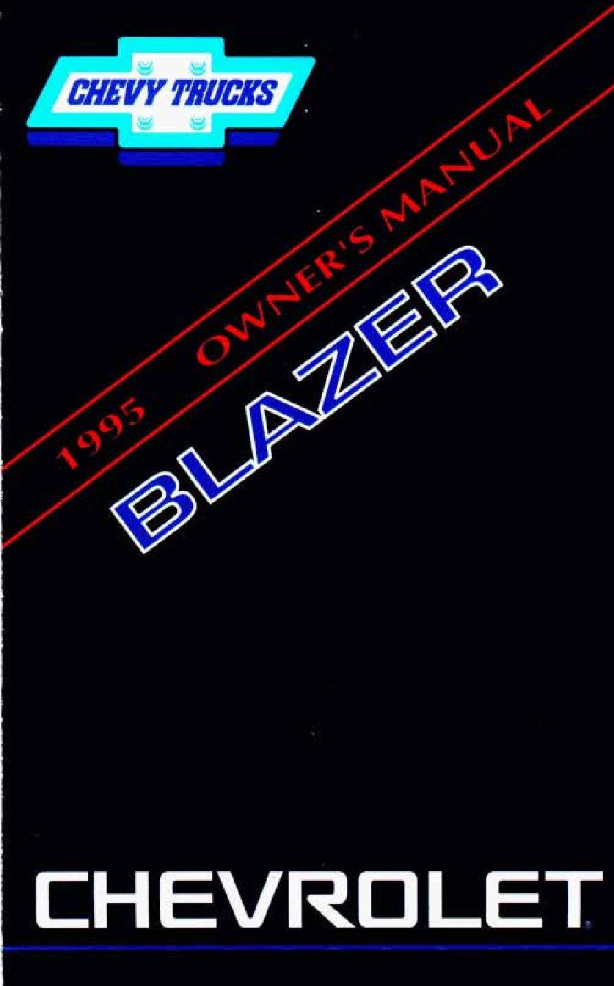 1995 chevrolet blazer owners manual just give me the damn manual rh justgivemethedamnmanual com 1995 chevrolet blazer service manual 1995 chevrolet blazer service manual