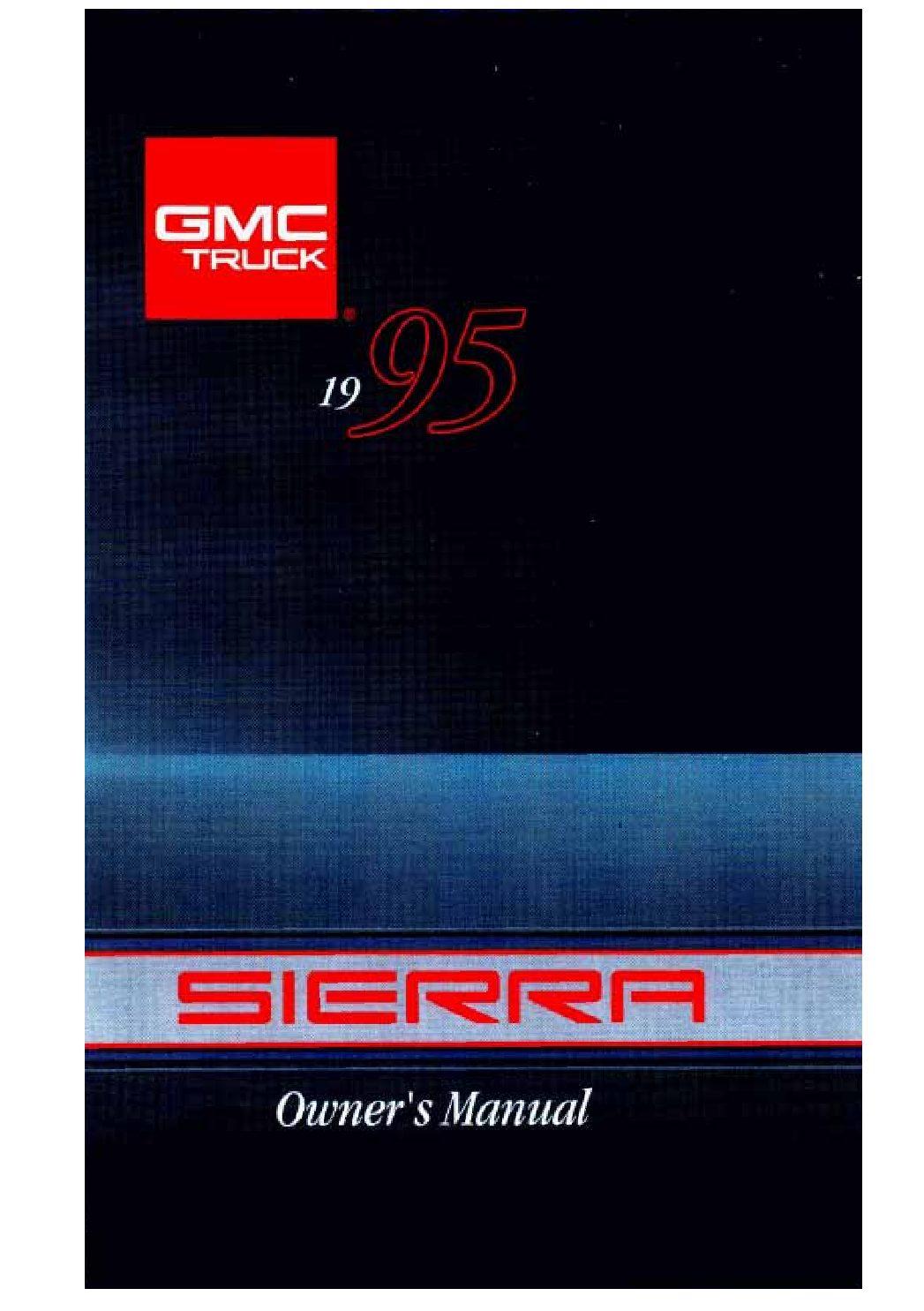 gmc sierra owners manual  give   damn manual