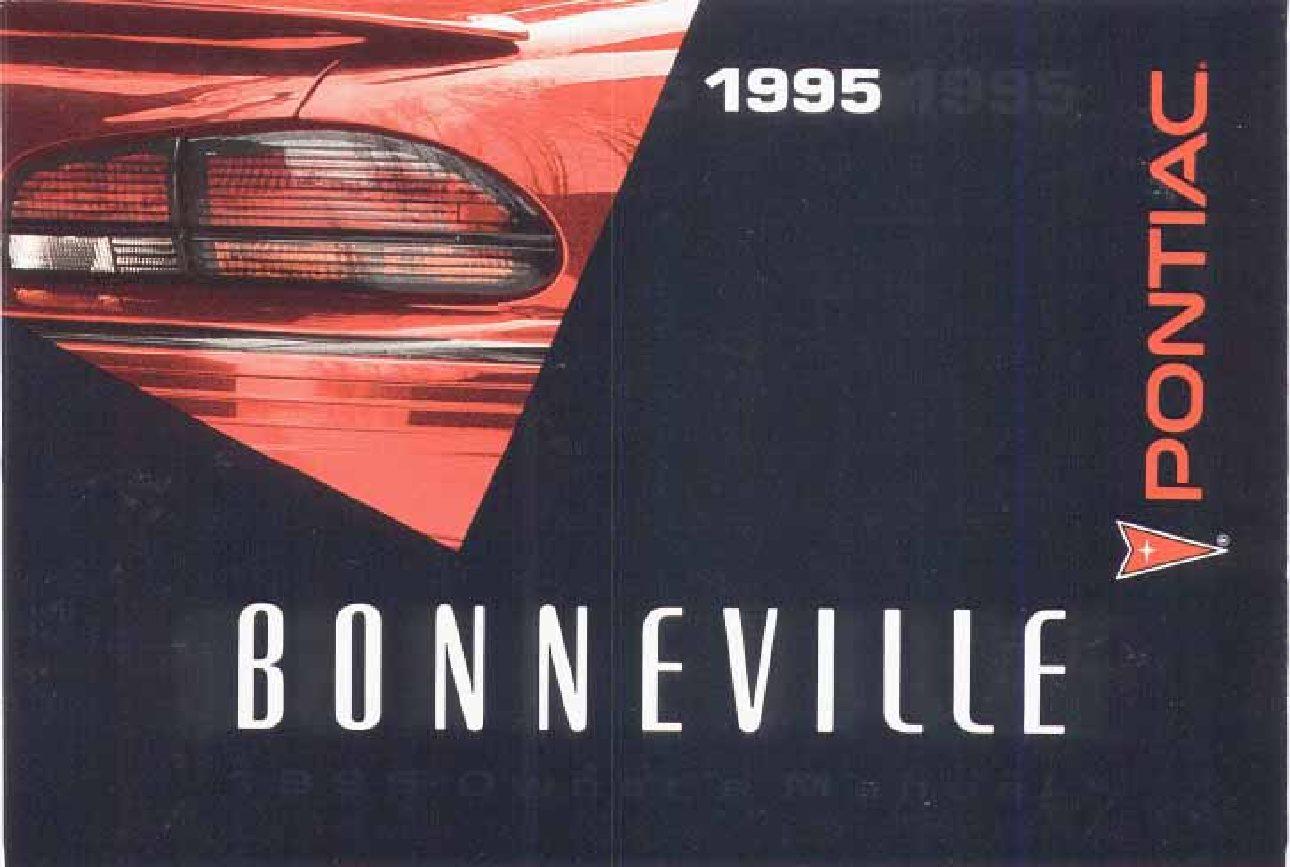 1995 pontiac bonneville owners manual just give me the damn manual rh justgivemethedamnmanual com 2003 Pontiac Bonneville SSEi 2006 Pontiac Bonneville