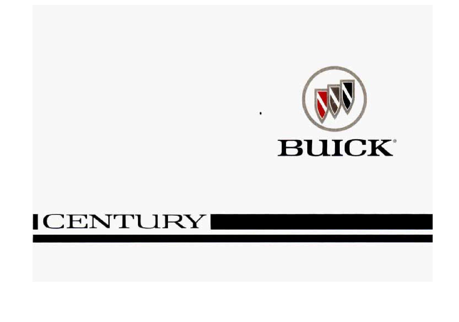 1996 buick century owners manual just give me the damn manual rh justgivemethedamnmanual com 1995 Buick Century 1994 Buick Century