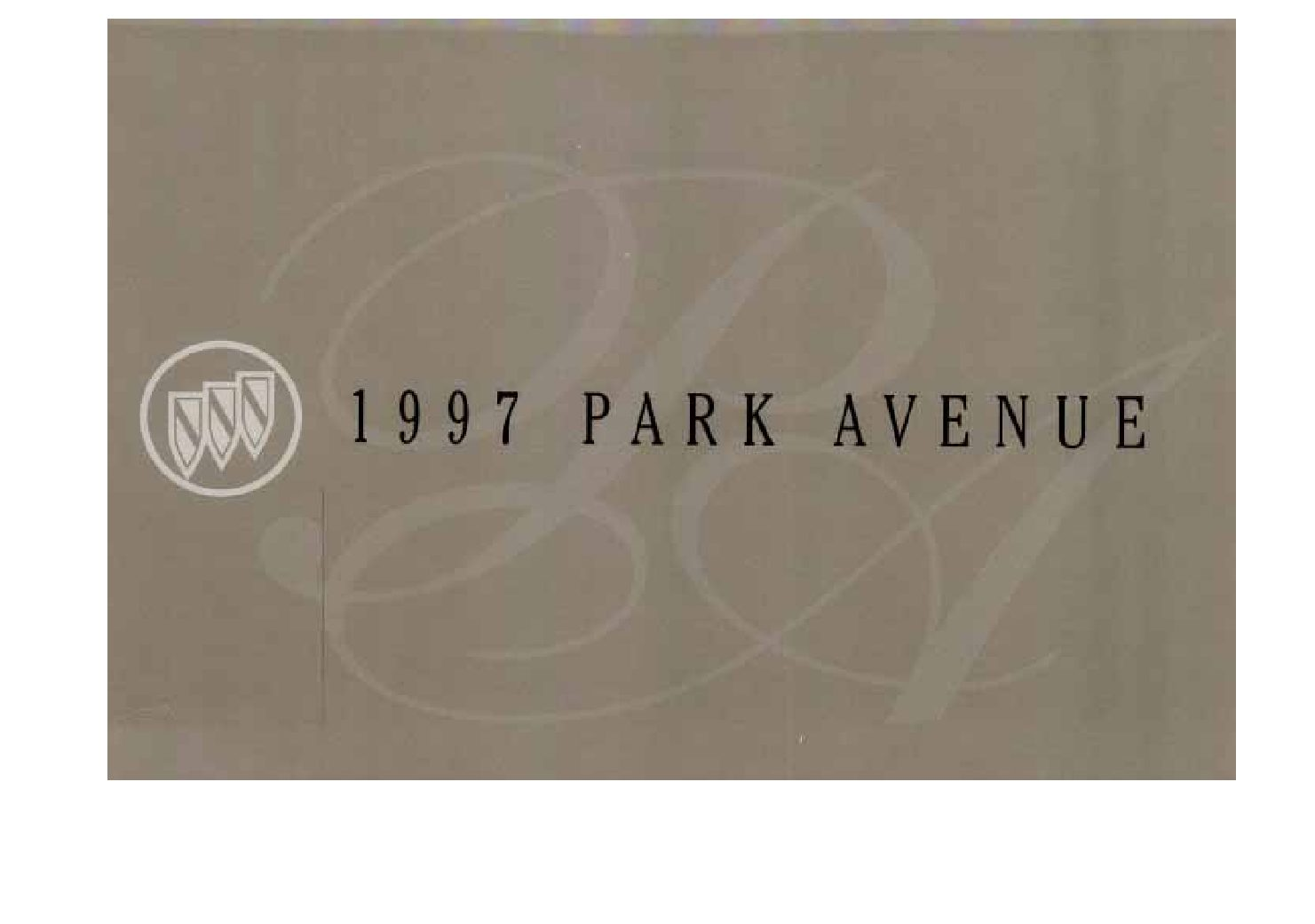 Buick Park Avenue Repair Manual Pdf