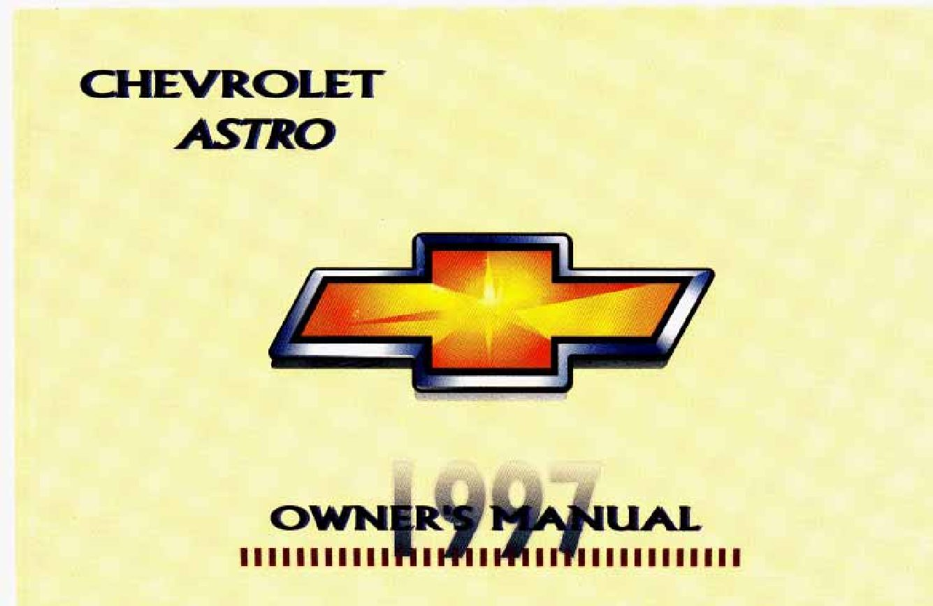 1997 chevrolet astro owners manual just give me the damn manual rh justgivemethedamnmanual com 1997 Chevrolet Astro KBB 1997 chevy astro van repair manual pdf