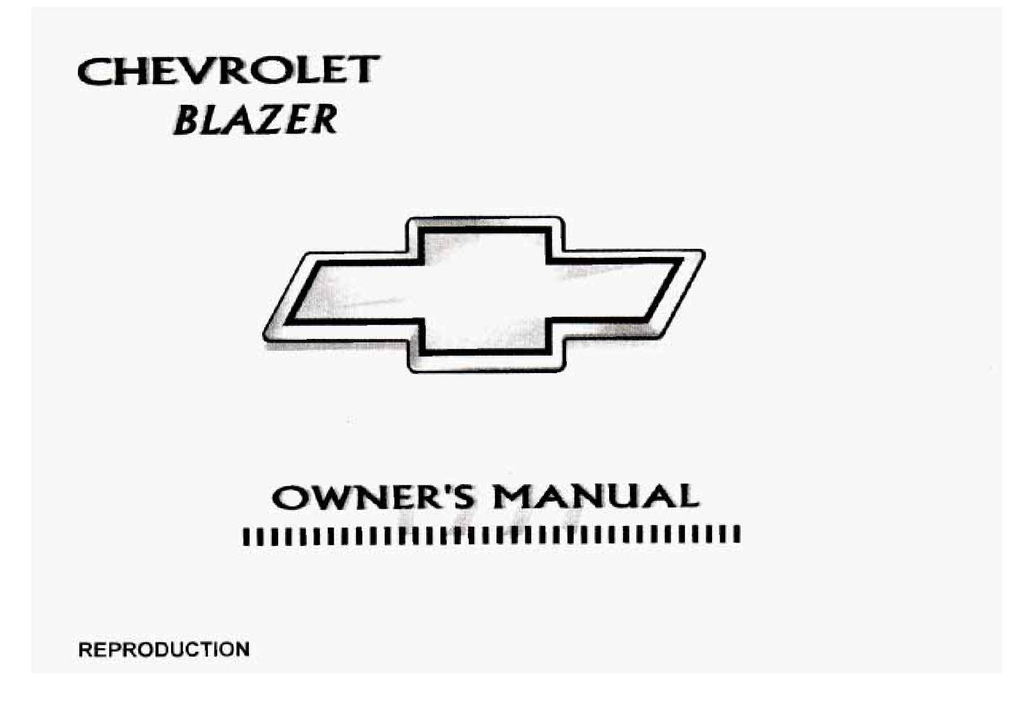 1997 chevrolet blazer owners manual just give me the damn manual rh justgivemethedamnmanual com 1997 chevy blazer owners manual 1997 chevy blazer service manual pdf