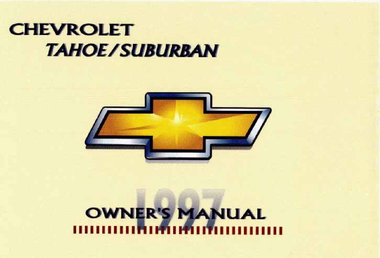 2000 chevrolet suburban owners manual