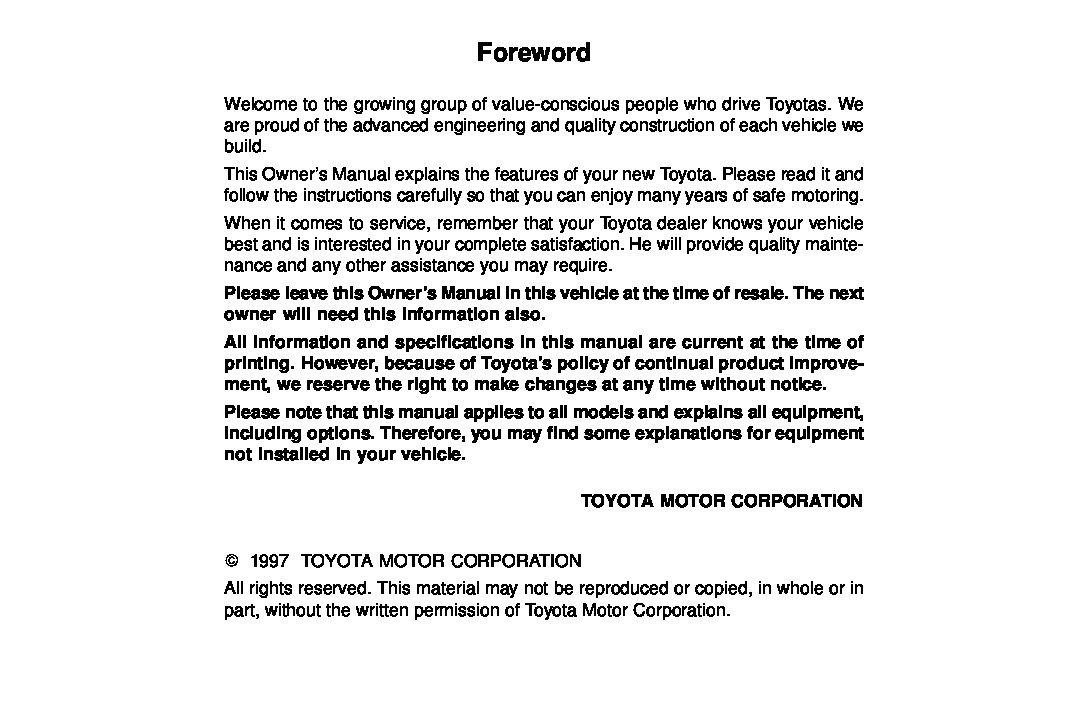 1997 toyota camry owners manual just give me the damn manual rh justgivemethedamnmanual com 2002 Toyota Camry Starter Location 2002 toyota camry owners manual pdf