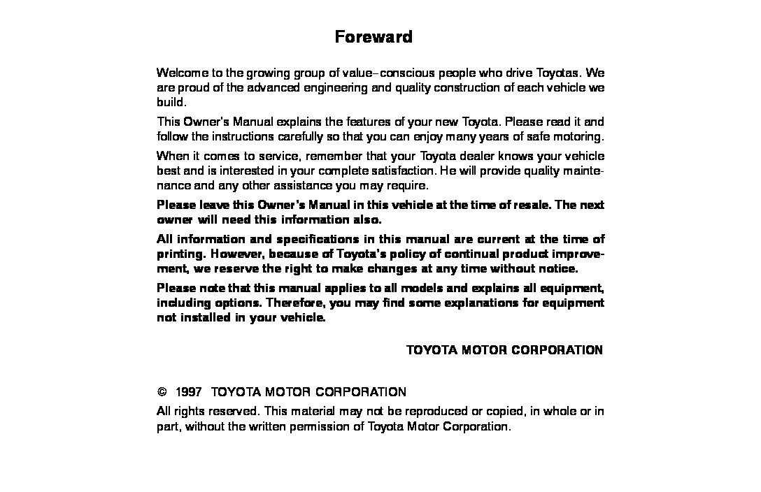 1997 toyota corolla owners manual just give me the damn manual rh justgivemethedamnmanual com 2002 toyota corolla service manual 2002 toyota corolla owners manual