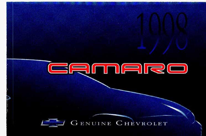 1998 chevrolet camaro owners manual just give me the damn manual rh justgivemethedamnmanual com 2002 Chevy Camaro 1998 chevrolet camaro z28 owners manual