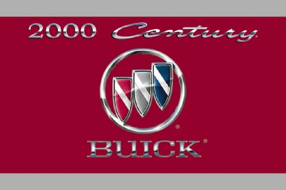 2000 buick century owners manual just give me the damn manual rh justgivemethedamnmanual com 2000 buick century repair manual 2000 buick century user manual