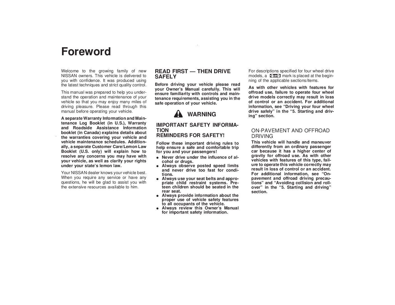 2000 nissan pathfinder owners manual just give me the damn manual rh justgivemethedamnmanual com 2002 envoy owner's manual 2002 gmc envoy owner's manual
