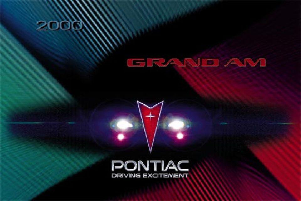 2000 pontiac grand am owners manual just give me the damn manual rh justgivemethedamnmanual com 1973 Pontiac Grand AM 2005 grand am service manual