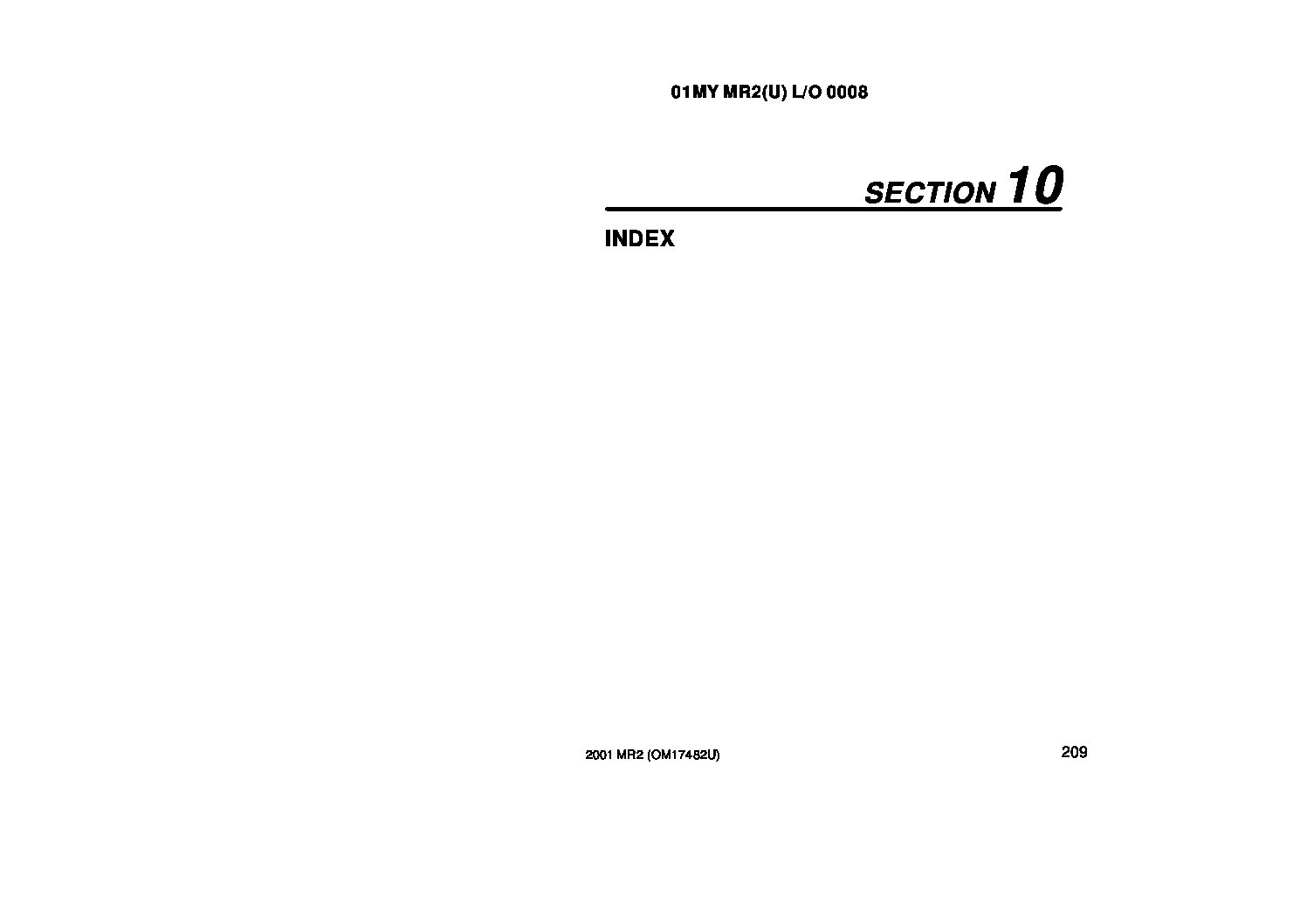2001 toyota mr2 spyder owners manual just give me the damn manual rh justgivemethedamnmanual com Silver 2001 Toyota MR2 Spyder 2005 Toyota MR2 Spyder