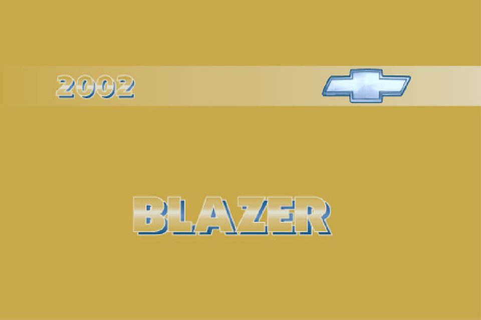 2002 chevrolet blazer owners manual just give me the damn manual rh justgivemethedamnmanual com 2004 chevy blazer owners manual pdf 2002 chevy s10 blazer owners manual