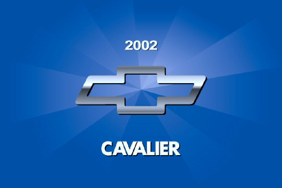 2002 chevrolet cavalier owners manual just give me the damn manual rh justgivemethedamnmanual com 2000 Cavalier 2002 cavalier service manual