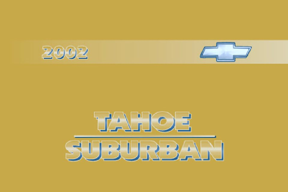 2002 chevrolet tahoe owners manual just give me the damn manual rh justgivemethedamnmanual com 2002 chevy tahoe owners manual free download 2002 chevrolet tahoe service manual