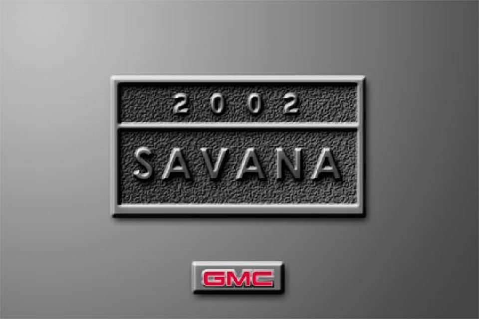 2002 gmc savana owners manual just give me the damn manual rh justgivemethedamnmanual com 2001 gmc savana 3500 owners manual 2001 gmc savana van owner's manual