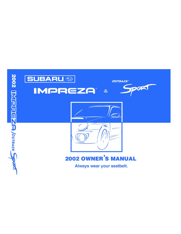 2002 subaru impreza owners manual just give me the damn manual rh justgivemethedamnmanual com service manual subaru impreza 2007 subaru impreza owners manual 2017