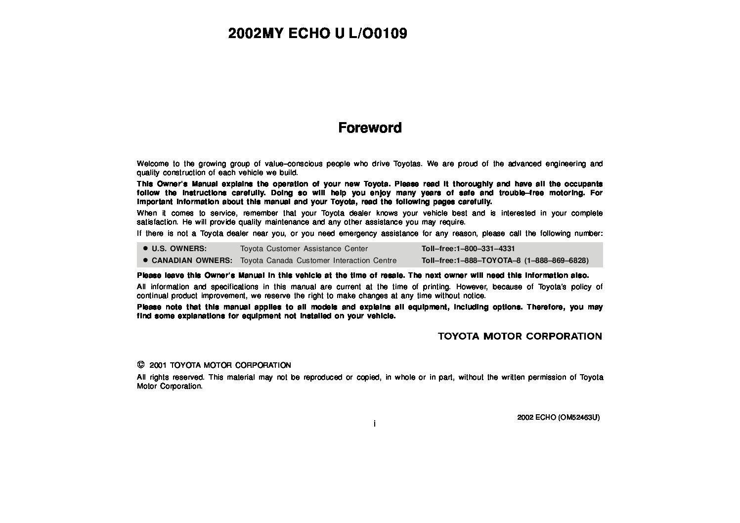 2002 toyota echo owners manual just give me the damn manual rh justgivemethedamnmanual com 2000 toyota echo owners manual pdf 2001 Toyota Echo Car
