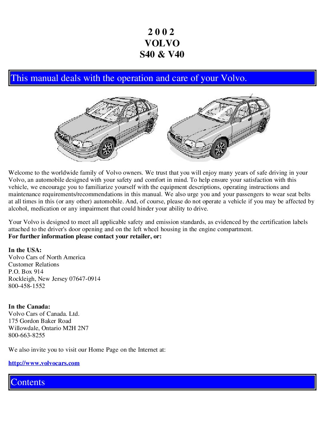 2002 volvo s40 v40 owners manual just give me the damn manual rh justgivemethedamnmanual com 2002 volvo v70 xc repair manual 2002 volvo xc70 owners manual
