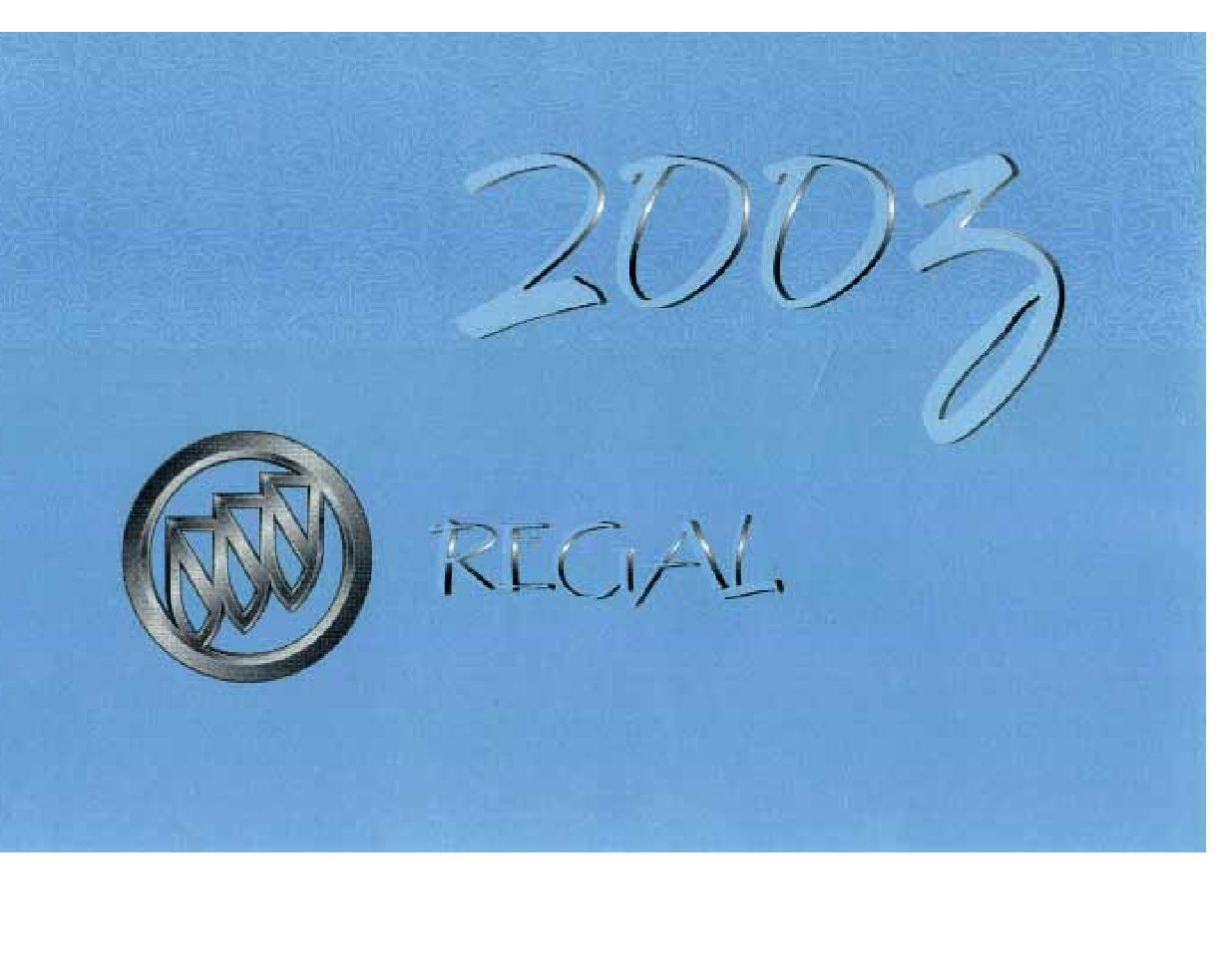2003 buick regal owners manual just give me the damn manual rh justgivemethedamnmanual com 2003 buick regal owner's manual pdf 2000 buick regal owners manual pdf