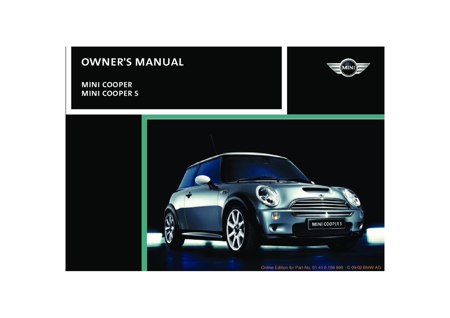 2003 mini cooper owners manual just give me the damn manual rh justgivemethedamnmanual com mini cooper user manual 2007 mini cooper user manual navigation system