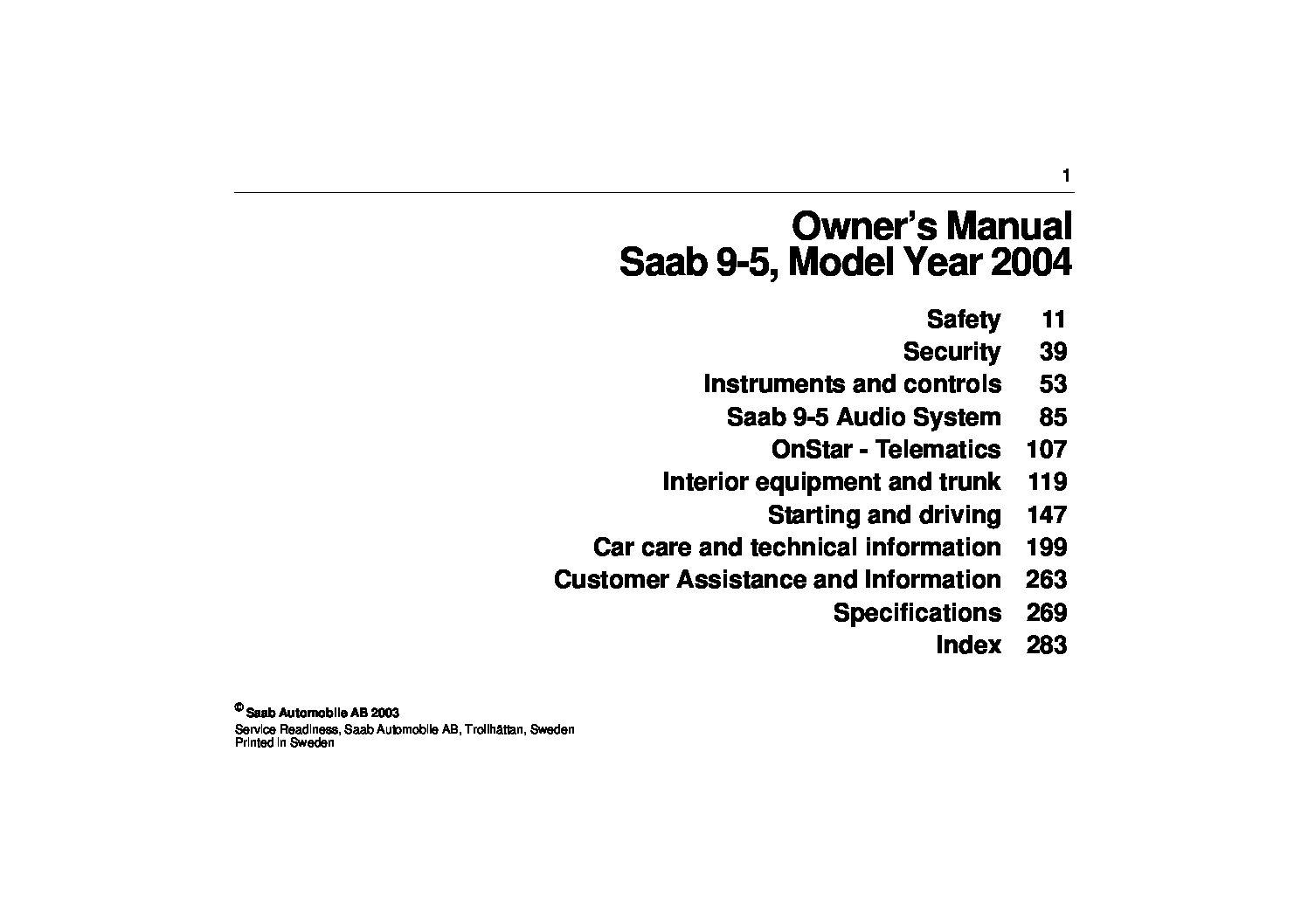 2004 saab 9 5 owners manual just give me the damn manual rh justgivemethedamnmanual com 2011 Saab 9 5 Parts 2011 Saab 9 5 Parts