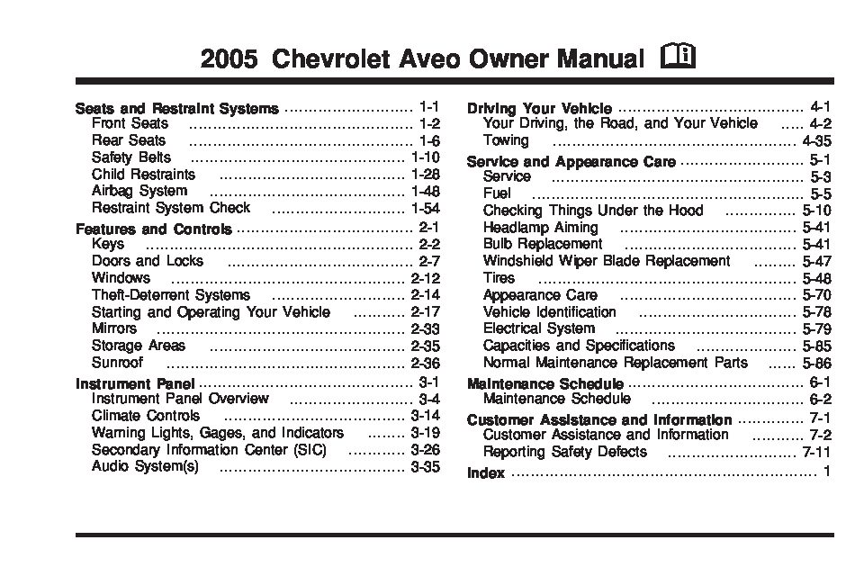 2005 chevy aveo owners manual open source user manual u2022 rh dramatic varieties com 2005 chevrolet aveo owners manual 05 chevy aveo owners manual