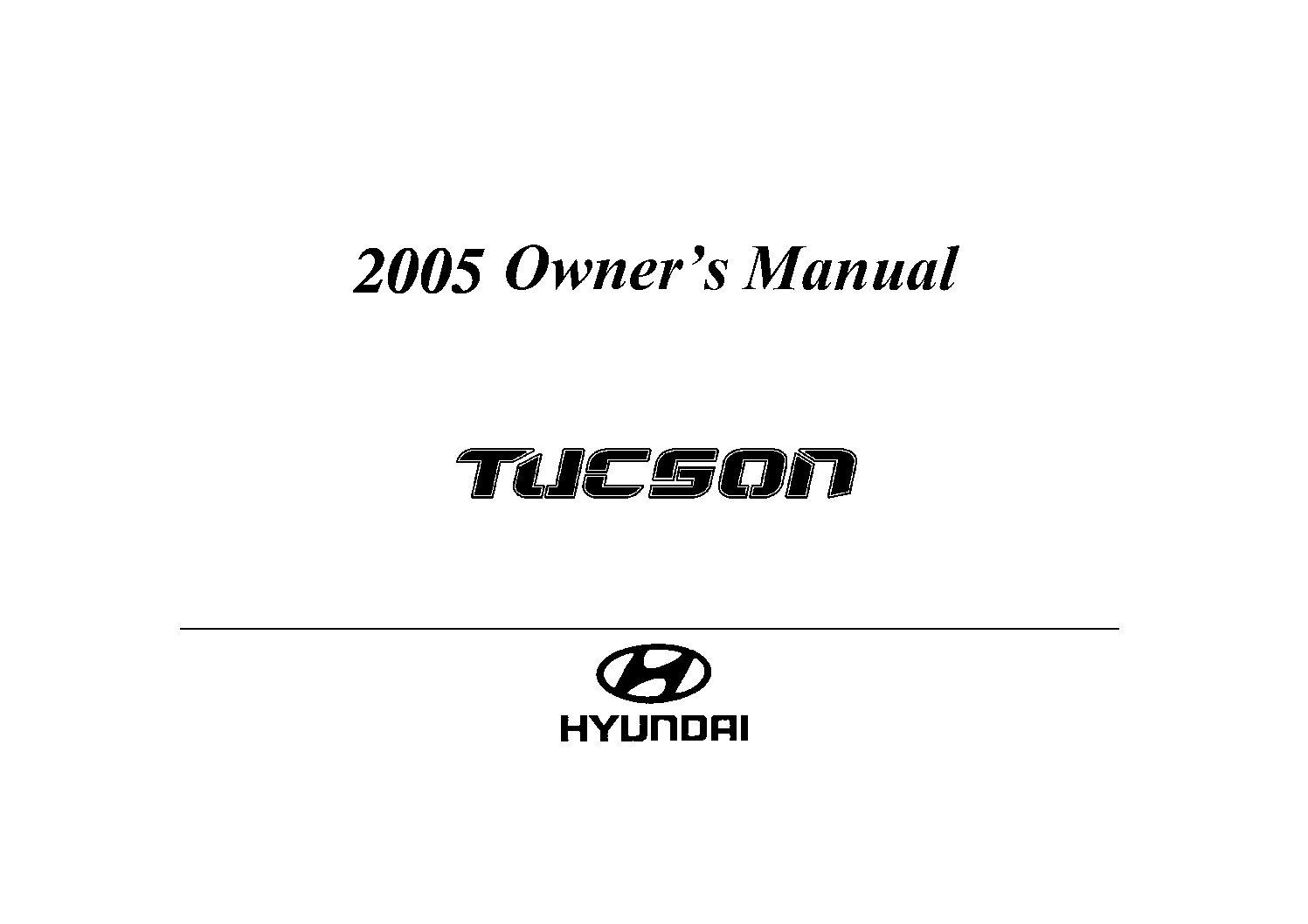 Repair manual hyundai tucson 2006.