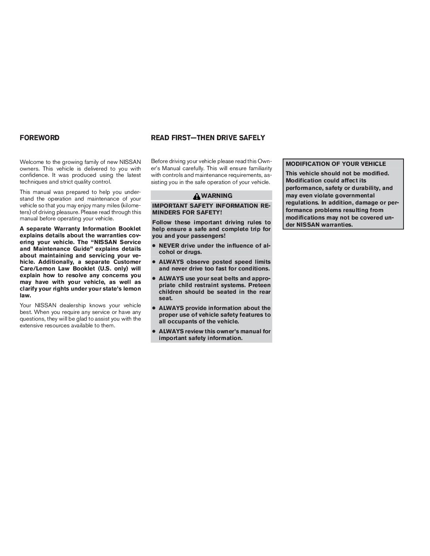 nissan quest 2005 repair manual