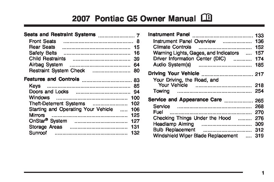 2007 pontiac g5 gt owners manual just give me the damn manual rh justgivemethedamnmanual com 2007 pontiac g5 wiring diagram 2007 pontiac g5 fuse panel