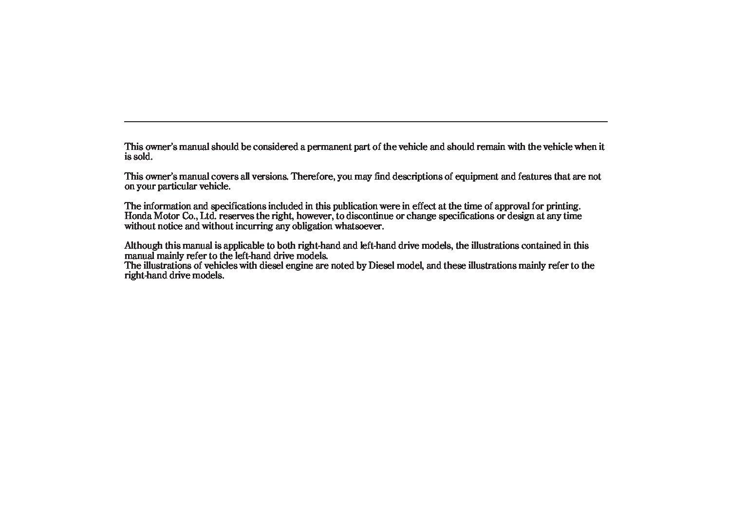 2007 honda civic hatchback-australian-type-r Owner's Manual