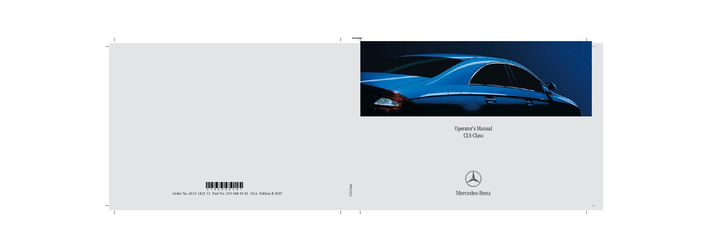 2007 mercedes benz cls class owners manual just give me the damn rh justgivemethedamnmanual com mercedes e class owners manual mercedes e class user manual pdf