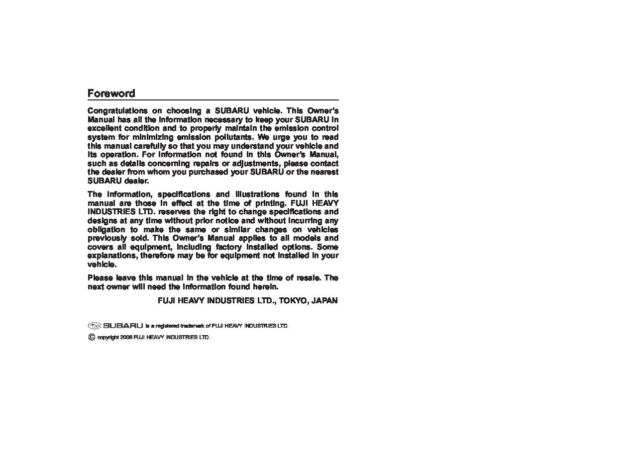 subaru impreza wrx owners manual  give