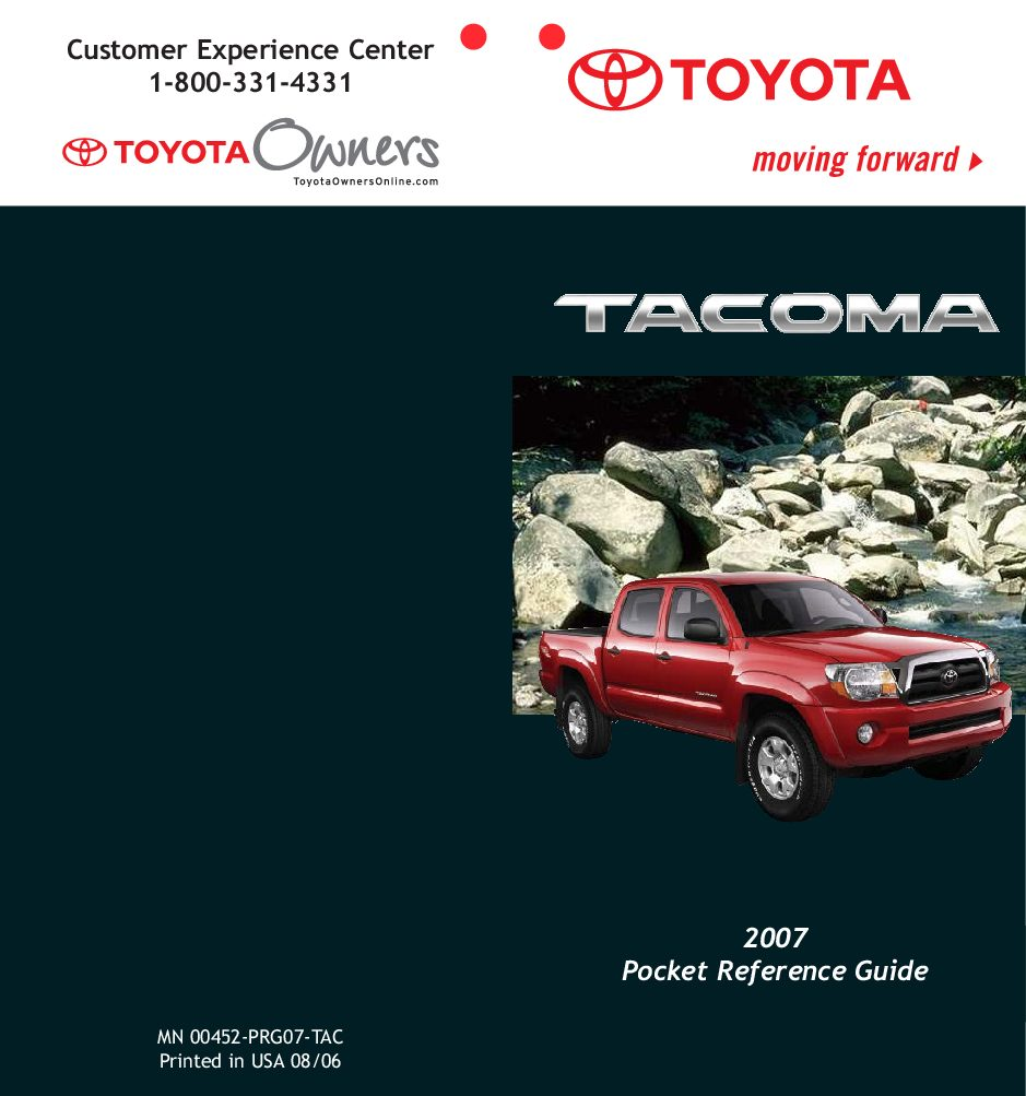 2007 toyota tacoma owners manual just give me the damn manual rh justgivemethedamnmanual com 2007 toyota tacoma service manual 2007 toyota tacoma owners manual pdf