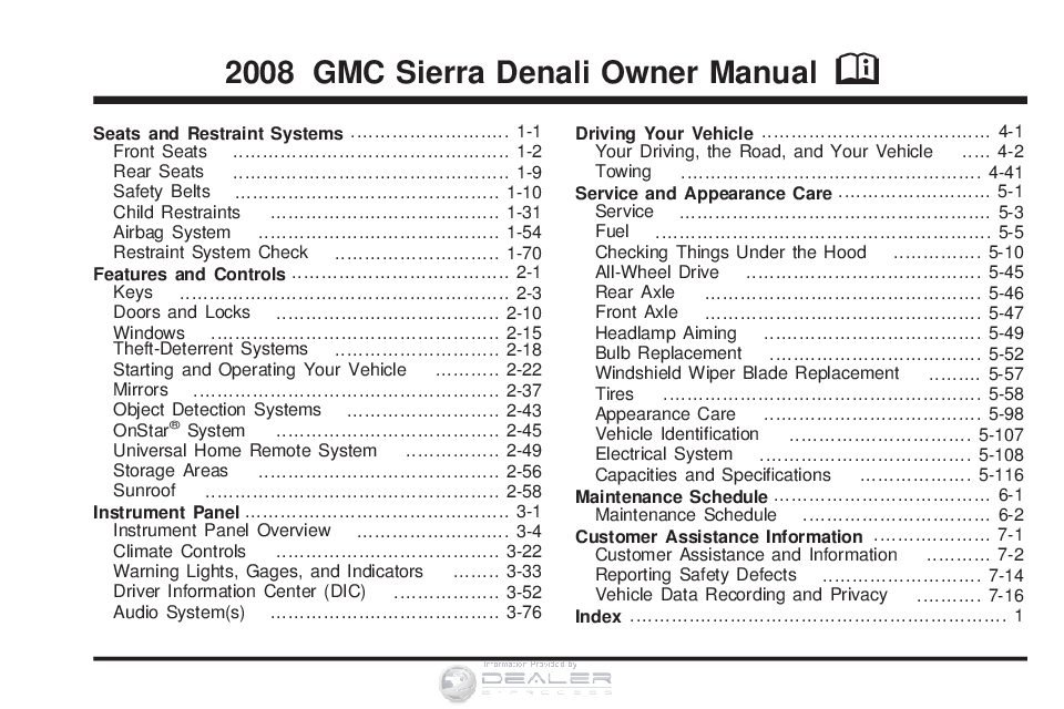 2008 gmc sierra owner s manual owners manual just give me the damn rh justgivemethedamnmanual com 2008 gmc canyon owners manual 2008 gmc duramax owners manual