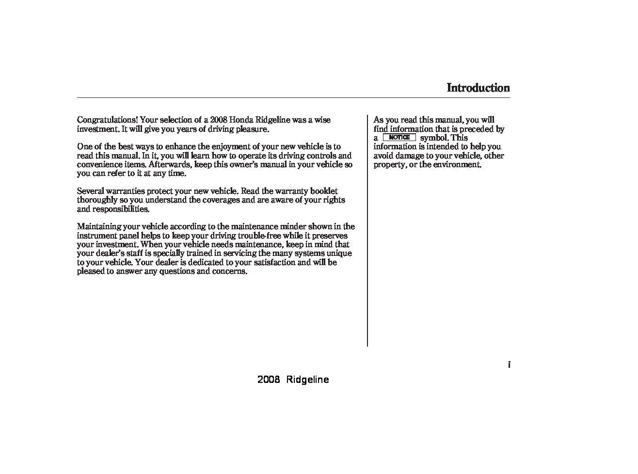 honda ridgeline service manual