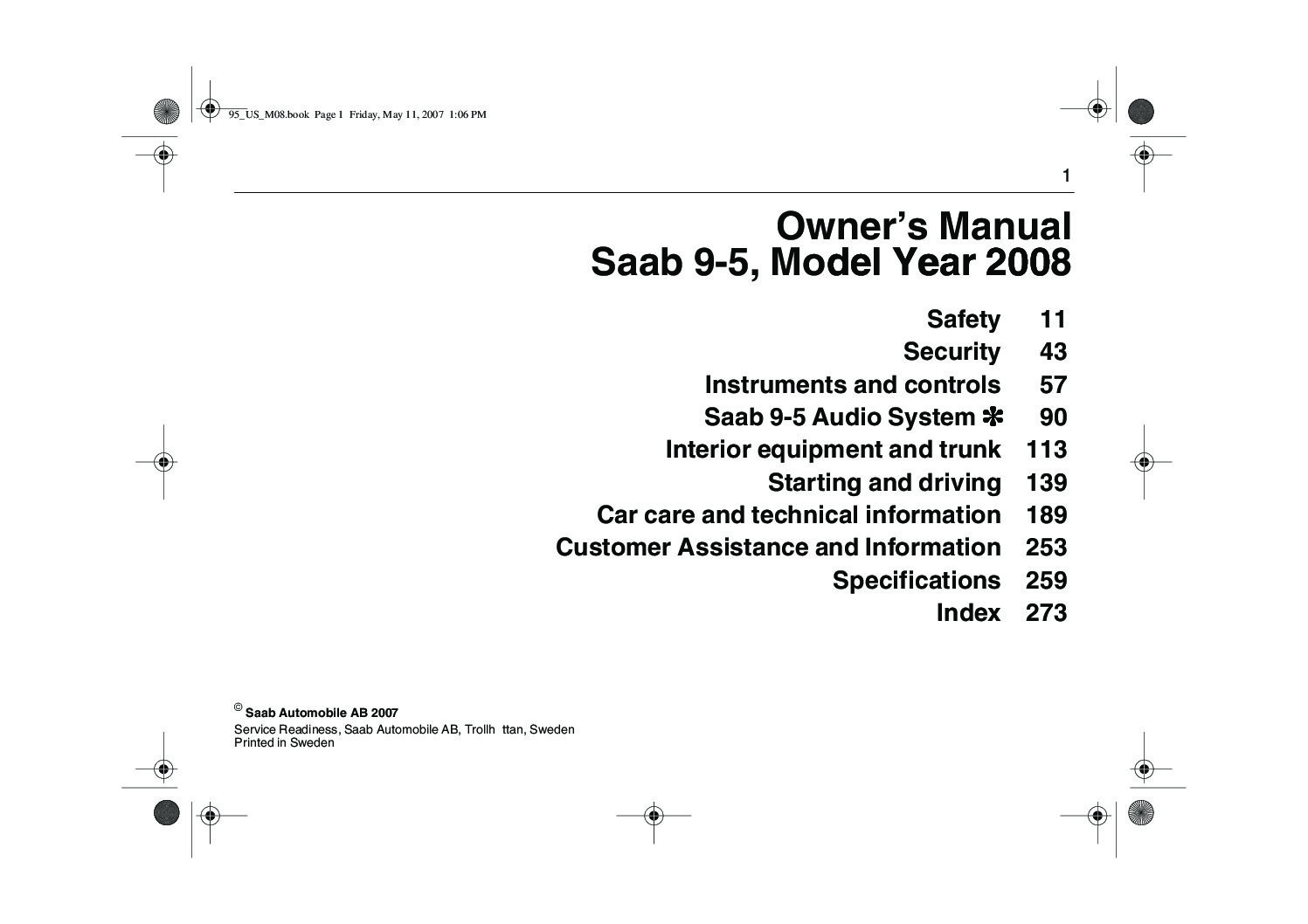 2008 saab 9 5 owners manual just give me the damn manual rh justgivemethedamnmanual com Saab 9-5 Vacuum Hose Diagram Saab Repair Manual 2004