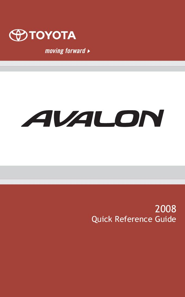 2008 toyota avalon owners manual just give me the damn manual rh justgivemethedamnmanual com 2011 toyota avalon owners manual 2000 Toyota Avalon Brown