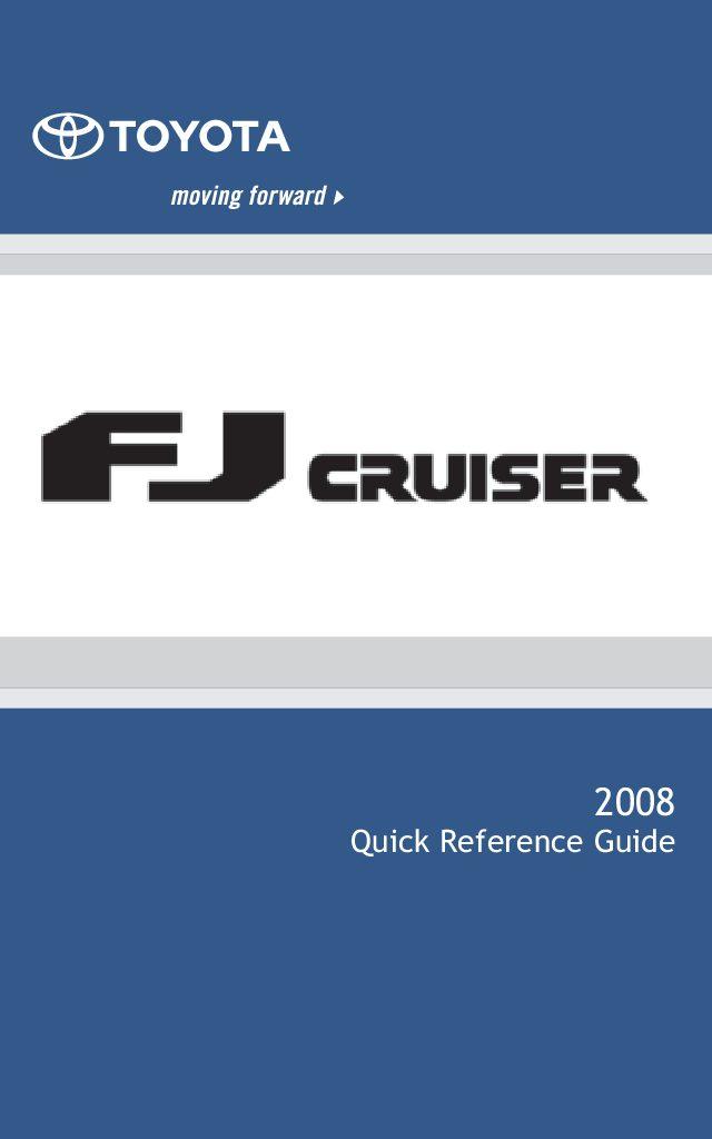 2008 toyota fj cruiser owners manual just give me the damn manual rh justgivemethedamnmanual com 2008 toyota camry owners manual 2007 toyota owners manual