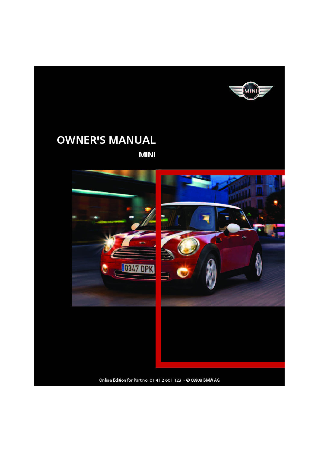 2009 mini cooper owners manual just give me the damn manual rh justgivemethedamnmanual com mini cooper 2009 owners manual pdf mini cooper 2009 owners manual pdf