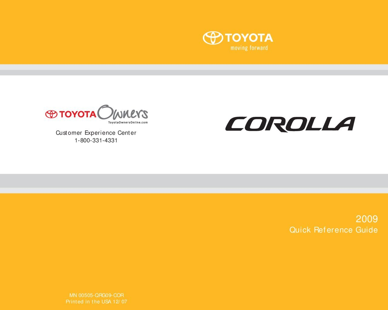 2009 toyota corolla owners manual just give me the damn manual rh justgivemethedamnmanual com 2008 toyota corolla owners manual pdf 2009 toyota corolla owners manual pdf