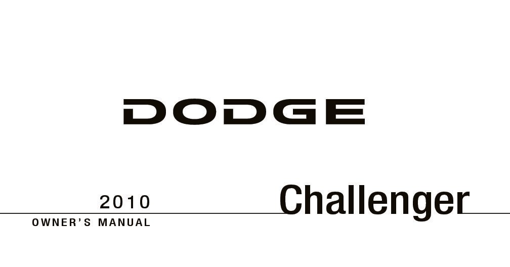 2010 dodge challenger owners manual just give me the damn manual rh justgivemethedamnmanual com 2010 dodge challenger rt service manual 2010 dodge challenger owners manual pdf