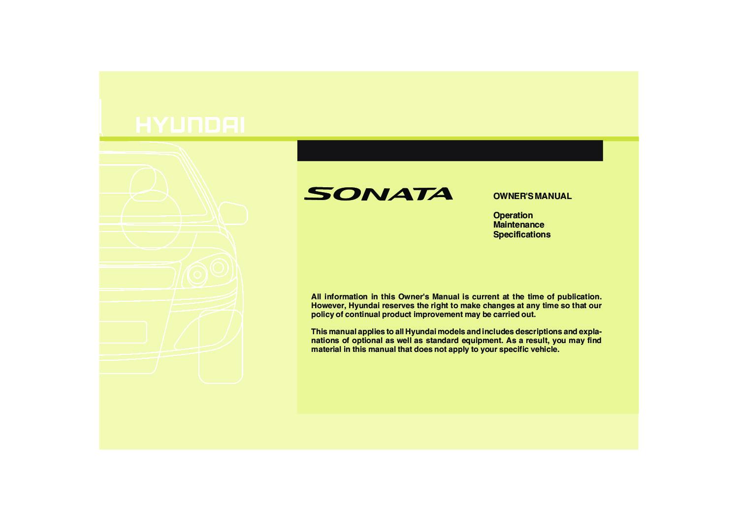 2010 hyundai sonata owners manual just give me the damn manual rh justgivemethedamnmanual com 2009 Sonata 2013 Sonata