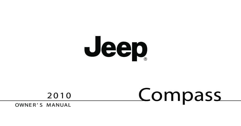 2010 jeep compass owners manual just give me the damn manual rh justgivemethedamnmanual com 2018 Jeep Compass Manual Inside Jeep Compass Manual